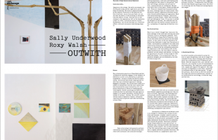 Publication for Outwith with Essay by George Vasey